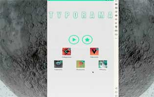 Typorama – The normal text to a more stunning typographic design