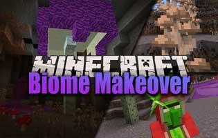 Biome Makeover Mod 1.16.4/1.16.3