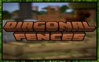 Diagonal Fences Mod 1.16.5